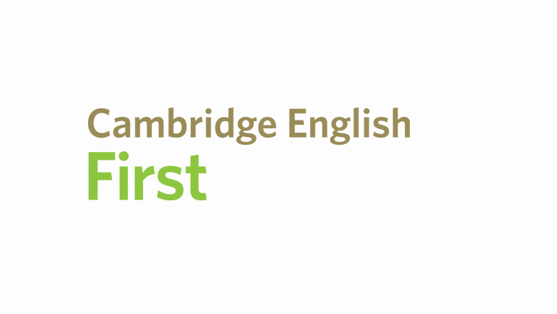 Cambridge English First (FCE)